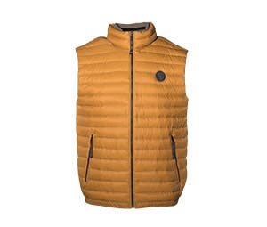 Men's quilted gilet