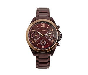 On all reduced Fossil watches