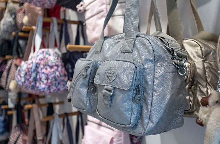 Kipling Outlet graue Tasche