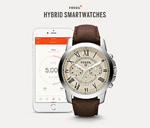 Hybrid Watches Fossil Q