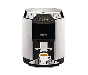 On KRUPS automatic coffee machines