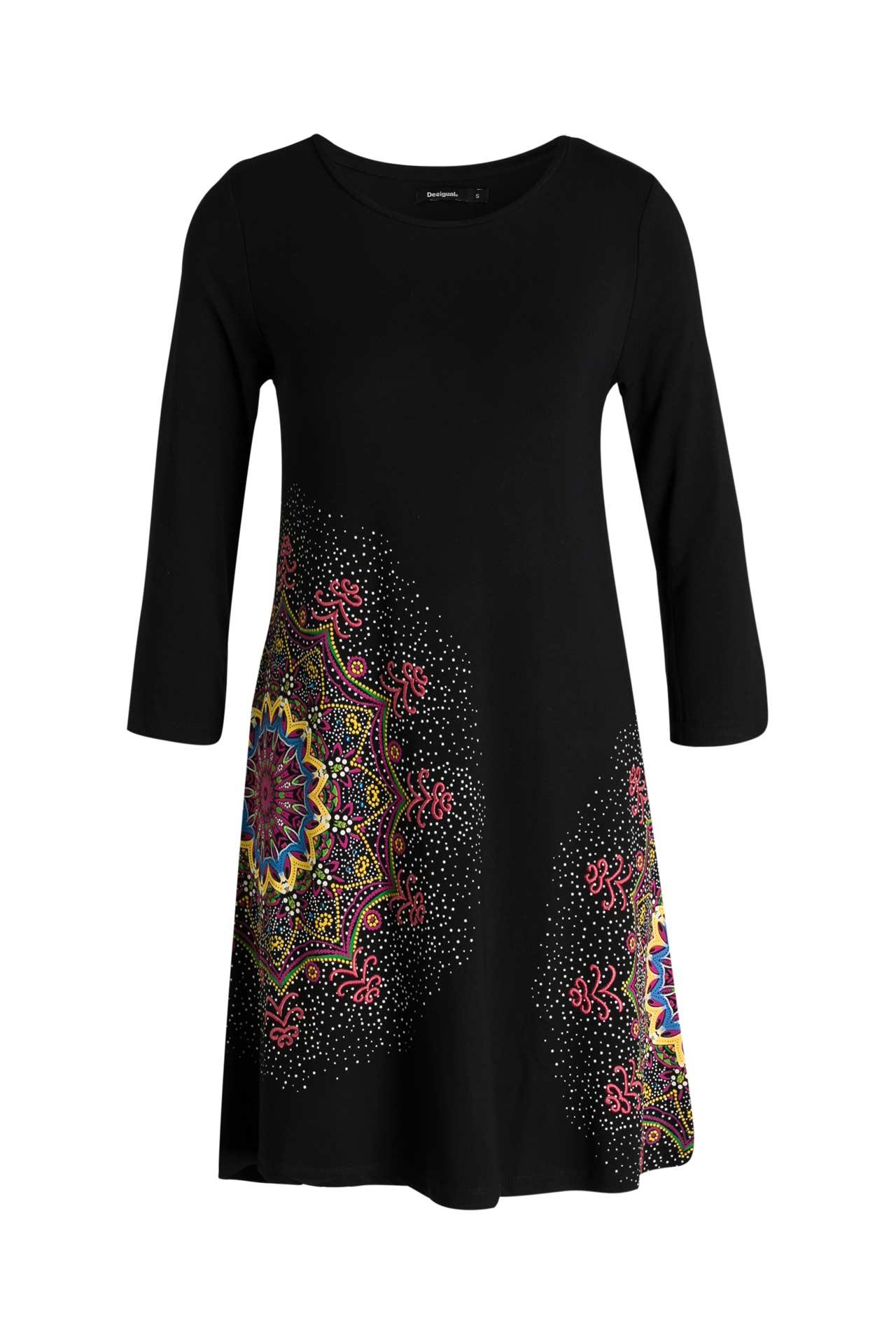 Kleid 'Mara' schwarz - DESIGUAL » günstig online kaufen ...