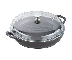 STAUB roasting pan with lid