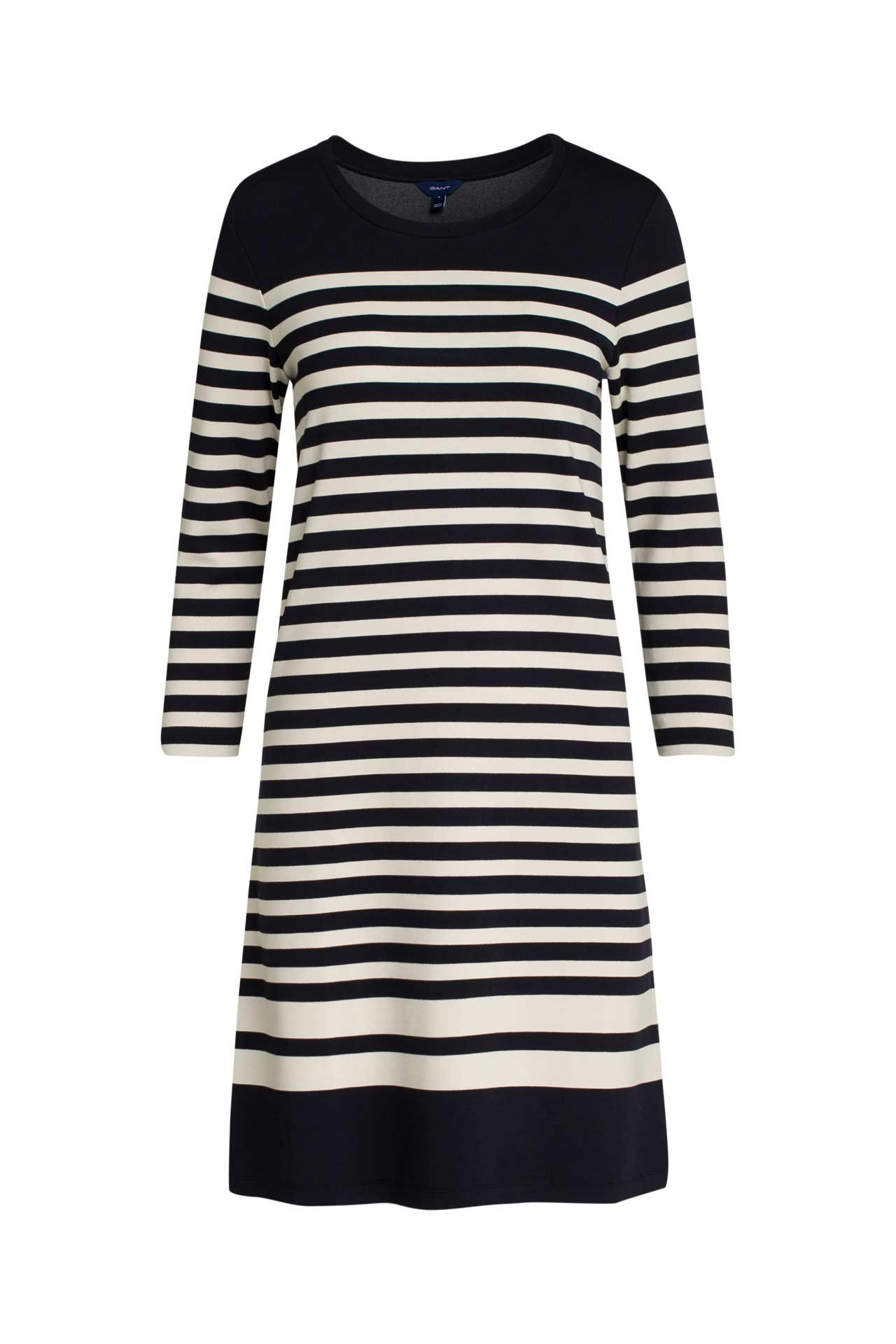 Jerseykleid gestreift - GANT » günstig online kaufen ...