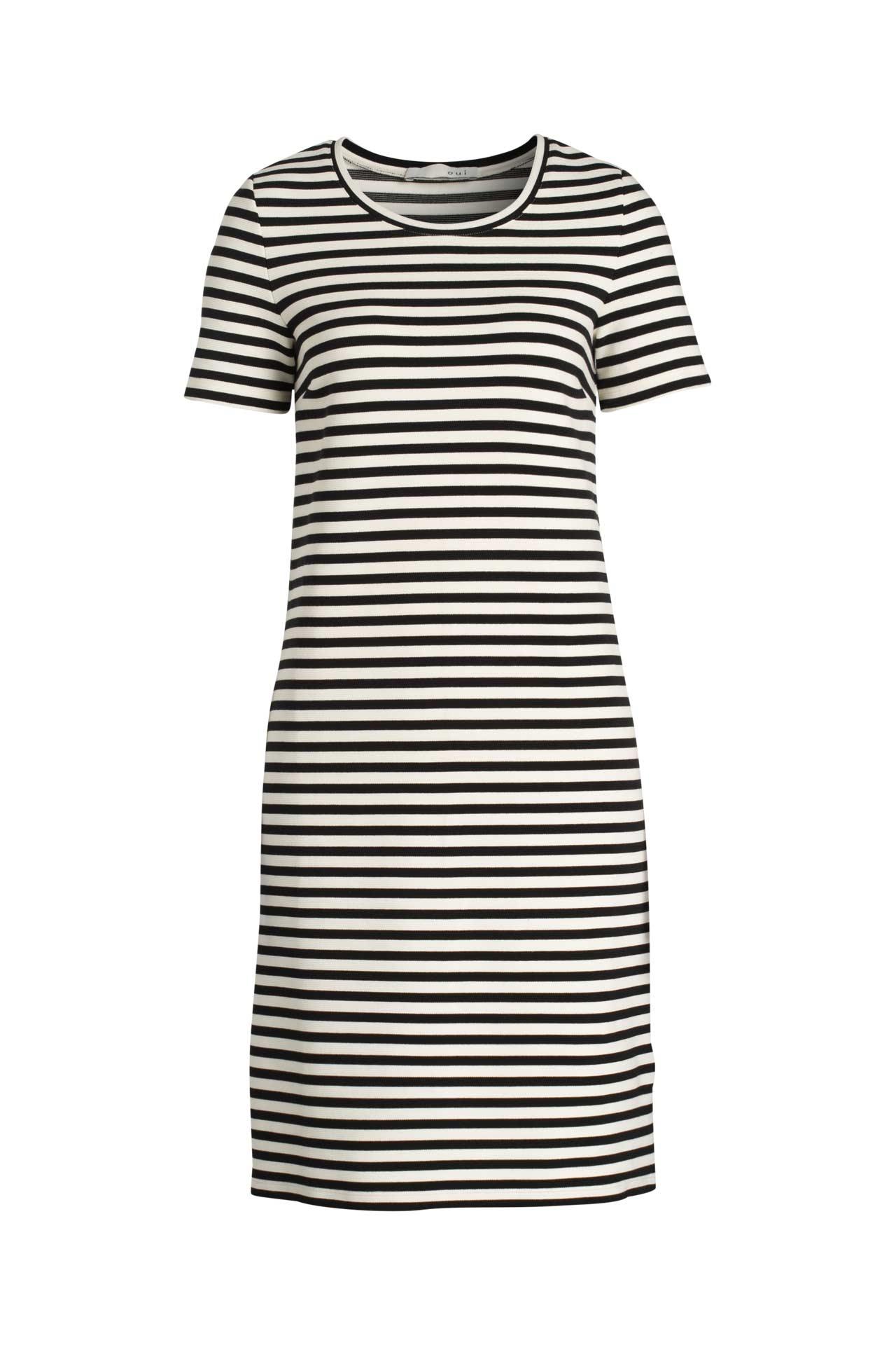 Jerseykleid gestreift - OUI » günstig online kaufen ...