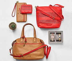 Small leather items for men and bags for women