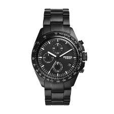 On selected women's and men's watches except Fossil Q
